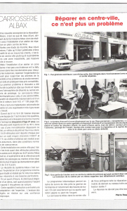 Auto Expertise - avec Albax, réparer en centre ville n'est plus un problème