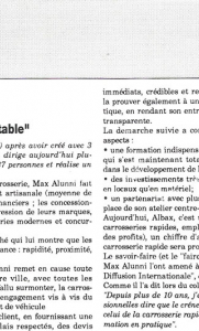 Giac info - Max Alunni privilégie le créneau rentable