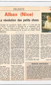 Nice Matin - La révolution des petits chocs