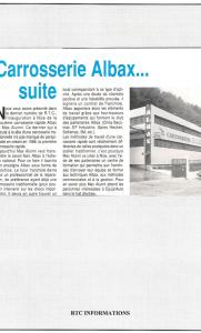 RTC - Carrosserie Albax...Suite