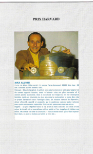 Figaro Méditerranéen - Max Alunni : Prix Harvard