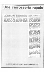 Carrosserie Monleau - Albax : une carrosserie rapide