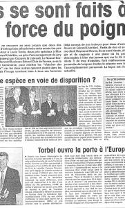 La Tribune - Max Alunni & Gérard Lhéritier, Ils se sont faits à la force du poignet