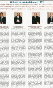 Azur Economies - Max Alunni : Victoire des Autodidactes