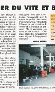 Entreprendre en Méditerranée - Albax : La carrosserie du vite et bien