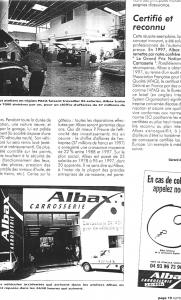 Auto Business - La réussite d\\\'Albax