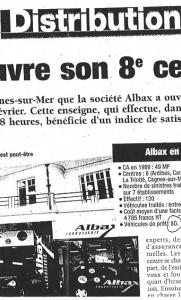 Distribution - Albax ouvre son 8 ème centre