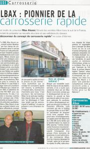Journal Rechange Indépendante - Albax : Pionnier de la carrosserie rapide