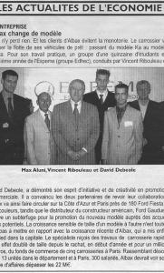 La Tribune - Albax change de modèle