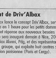 Nice Matin - Lancement de Driv'Albax