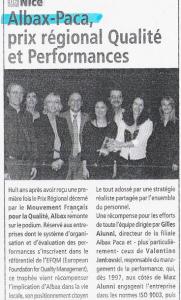 Auto Gratuit - Albax-Paca prix régional Qualité et Performances