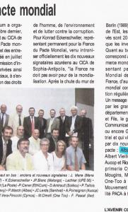 L\\\'Avenir Côte d\\\'Azur - ONU Pacte mondial