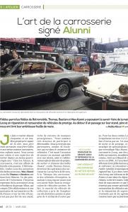 Journal de la Rechange et de la Réparation J2R N°101 - L'art de la carrosserie signé Alunni JournalDeLaRechange1.png